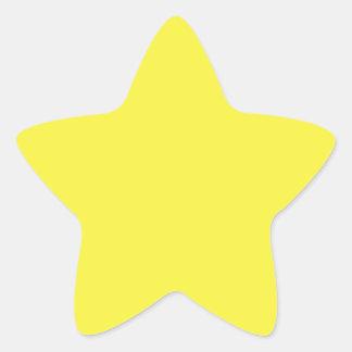 De oro vivo pegatina en forma de estrella