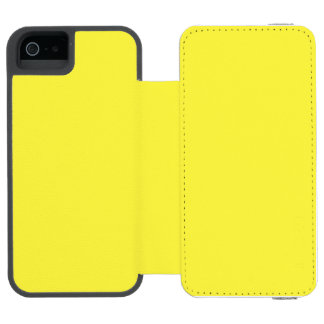 De oro vivo funda billetera para iPhone 5 watson