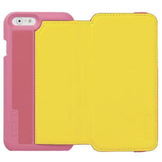 De oro vivo funda billetera para iPhone 6 watson