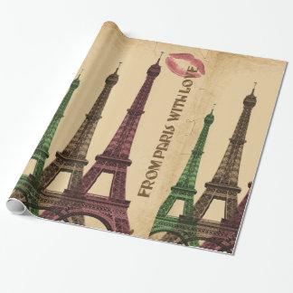 De París con amor Papel De Regalo