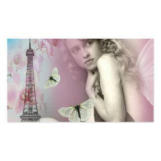 De París con amor Tarjetas De Visita