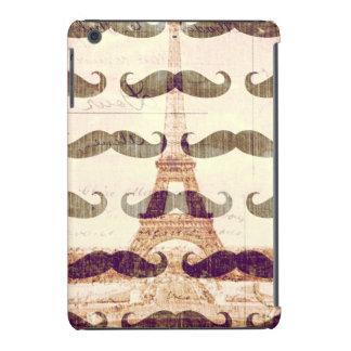 De París con el bigote Carcasa Para iPad Mini