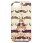 De París con el bigote iPhone 5 Cárcasa