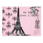 De París, con la postal del amor