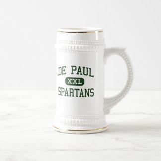 De Paul - Spartans - católico - Wayne New Jersey Tazas De Café