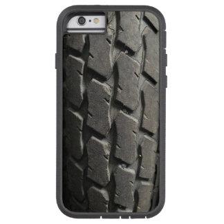 De pisada de la motocicleta del camino funda de iPhone 6 tough xtreme