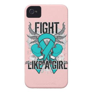 De PKD lucha ultra como un chica Case-Mate iPhone 4 Funda