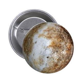 ~ de PLUTÓN del PLANETA (Sistema Solar) Pin Redondo 5 Cm