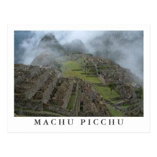 """De """"postal Machu Picchu brumoso"""""""