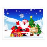 de postal navidad