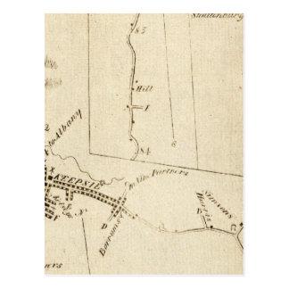 De Poughkeepsie a Albany 14 Postal