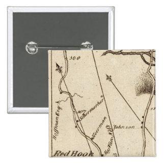 De Poughkeepsie a Albany 22 Pin Cuadrado