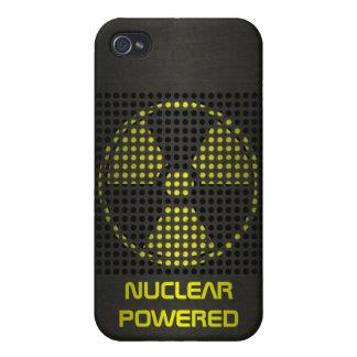 De propulsión nuclear iPhone 4/4S carcasas