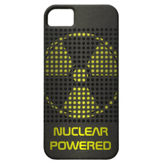 De propulsión nuclear funda para iPhone SE/5/5s