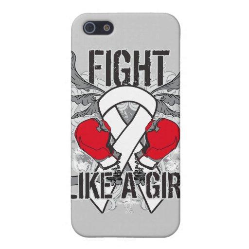 De pulmón del cáncer lucha ultra como un chica iPhone 5 funda