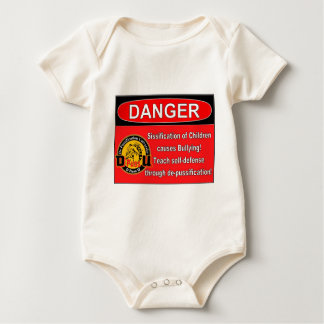De Pussification University Official Product Baby Bodysuit