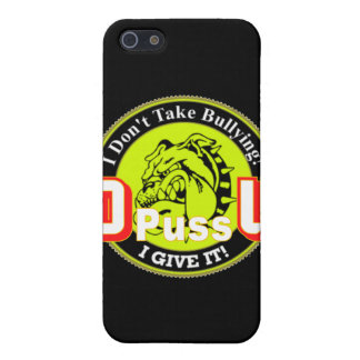 De Pussification University Official Product Case For iPhone 5