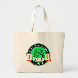 De Pussification University Official Product Large Tote Bag