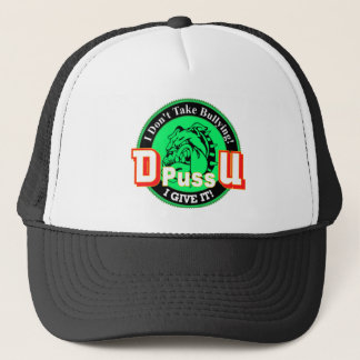De Pussification University Official Product Trucker Hat