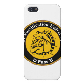 De Pussification University Official Products Cover For iPhone 5