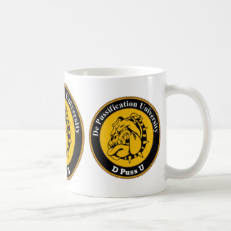 De Pussification University Official Products Mug