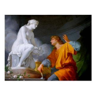 ~ de Pygmalión (mitología griega - Galathea) Tarjeta Postal