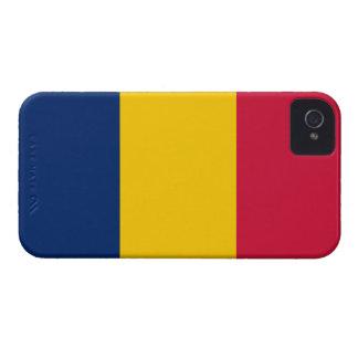 De República eo Tchad de la bandera caso del Case-Mate iPhone 4 Protector