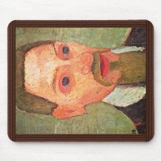 De: Retrato de Rainer Maria Rilke de Paula Alfombrillas De Ratones