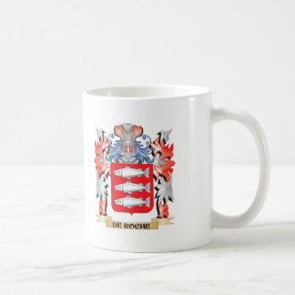 De-Roche Coat of Arms - Family Crest Coffee Mug