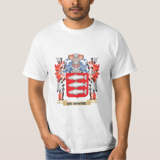 De-Roche Coat of Arms - Family Crest T-Shirt