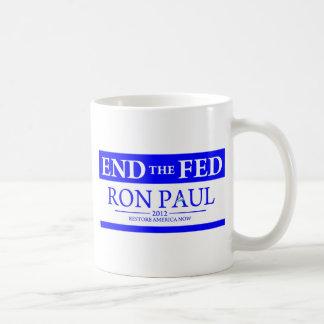 De Ron Paul del restablecimiento de América bander Tazas