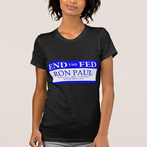 De Ron Paul del restablecimiento de América Camisetas