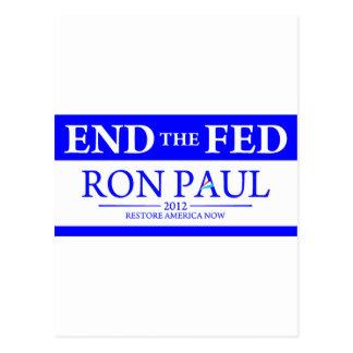 De Ron Paul del restablecimiento de América Tarjetas Postales