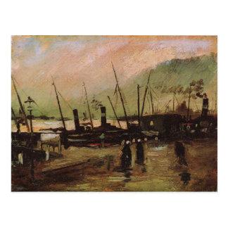 De Ruijterkade in Amsterdam, Vincent van Gogh Postcard