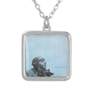 de Saint-Exupéry Silver Plated Necklace