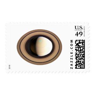 ~ de SATURN del PLANETA (Sistema Solar) Sello Postal