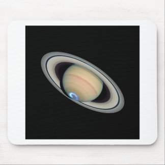 ~ de SATURN del PLANETA (Sistema Solar) Tapetes De Ratones