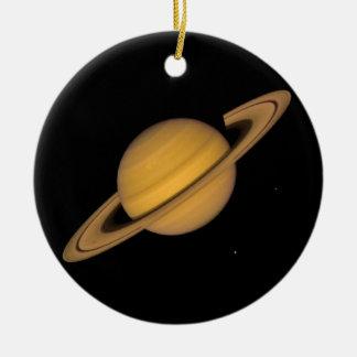 ~ de SATURN v.1 (Sistema Solar) Adorno Redondo De Cerámica