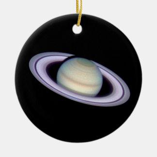 ~ de SATURN v.2 (Sistema Solar) Adorno Redondo De Cerámica