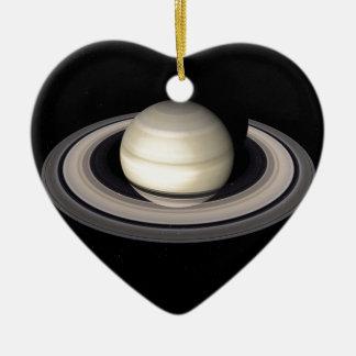 ~ de SATURN v.4 (Sistema Solar) Adorno De Cerámica En Forma De Corazón