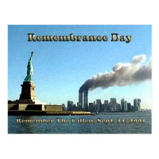 De sept. del día de la conmemoración el 911 11, postal