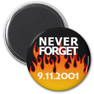 De sept. el 11 de 2001 de la conmemoración imán redondo 5 cm