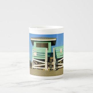 De servicio taza de porcelana