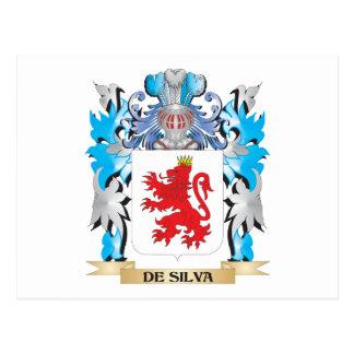 De-Silva Coat of Arms - Family Crest Postcard