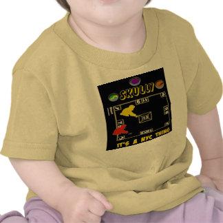 ~ de SKULLY es UNA COSA de NYC Camisetas