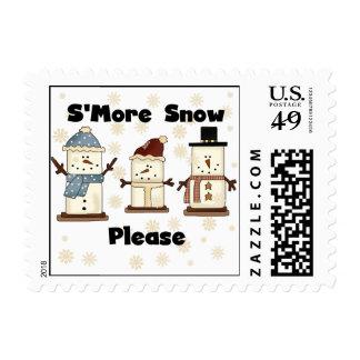 De S'more de la nieve franqueo por favor