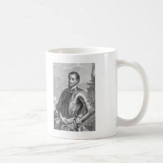 De Soto Classic White Coffee Mug