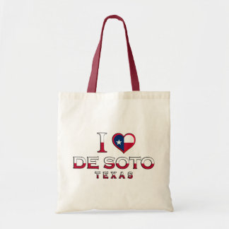 De Soto�, Texas Canvas Bag