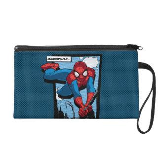 De Spider-Man el panel cómico mientras tanto