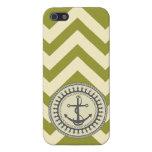 De StellaRoot del ancla marina de guerra del musgo iPhone 5 Coberturas